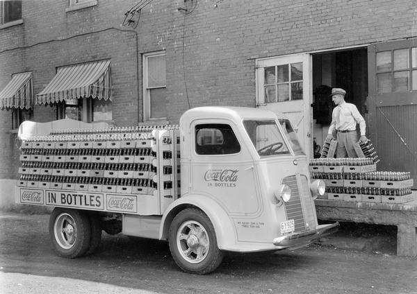 delivery man vintage